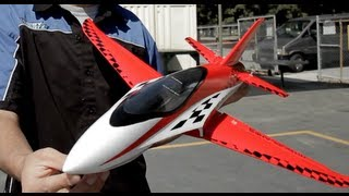 "NEW 2.4 GHz 3 Channel Exceed RC Mini X 26"" Electric Powered RC Airplane RTF (Red)"