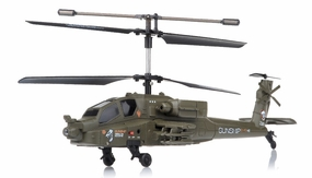 New 2.4Ghz 3 Channel UDI U10 Gunship Apache RC Helicopter RC Remote Control Radio