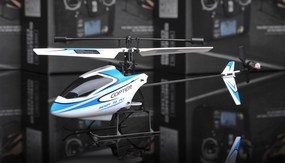 New 2.4Ghz 4 Channel V911 RC mini Helicopter (Blue) RC Remote Control Radio