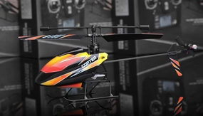 New 2.4Ghz 4 Channel V911 RC mini Helicopter (Orange)