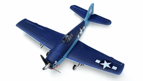 New 2.4Ghz AirField 4 channel Mini EPO F6F Hellcat  RTF Ready to Fly version 800 Series Brushless Motor/Lipo