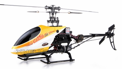 New!! 2.4Ghz Dynam E-Razor 250 Pro Ready-to-Fly w/ CNC Upgraded Rotor Head, Brushless Motor+ESC, LiPo Battery