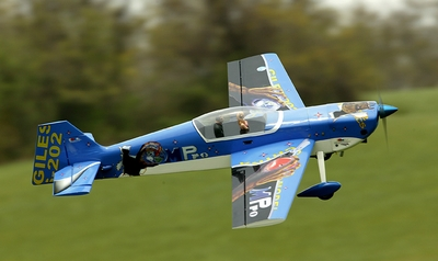 "New 2007 Giles-202 Version 2 140 - 71"" Engine Powered Aerobatic Remote Controlled Aircraft"