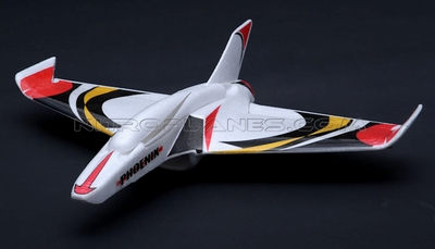 New 3 Ch EPO Phoneix RC Plane ARF w/40mm EDF+15AESC+2*2.5g Servo