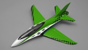 "NEW 3 Channel Exceed RC Mini X 26"" Electric Powered RC Airplane ARF (Green) RC Remote Control Radio"