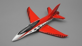 "NEW 3 Channel Exceed RC Mini X 26"" Electric Powered RC Airplane ARF (Red)"