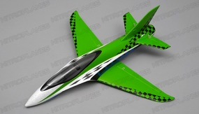 "NEW 3 Channel Exceed RC Mini X 26"" Electric Powered RC Airplane Kit (Green)"