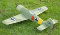 New 4 CH Focke-Wulf FW 190 Radio Remote Control Electric RC Warbird Airplane RTF (Green)