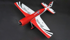 "New 4 Channel Dynam SU-26M Brushless Sports RC Plane 47"" ARF w/ Motor + ESC + Servos (Red)"