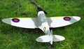 New 4-Channel RTF Spitfire MK2 RTF Radio Remote Controlled RC Warbird Airplane (White)