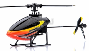 New!! 6 channel Walkera Genius CP Micro 3D Flybarless RC Helicopter Ready to Bind w/ Gyro + Servos