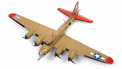 "NEW 7 Channel AirWingRC B-17 Bomber 63"" Scale Electric RC Warbird ARF w/ Brushless Motor + ESC + Servos (Yellow) RC Remote Control Radio"