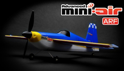 New Advanced Mini-Air 4 Channel Scale Edge 540 RC Plane ARF RC Remote Control Radio 11A540-540-ARF