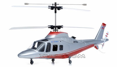 New Art Tech 4 Channel 400 Class Agusta Double Rotor Heli RTF