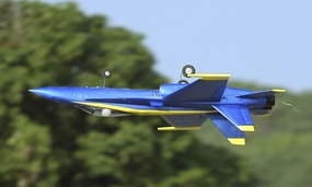 New Art-Tech F/A-18C [F18] Blue Angel R/C EDF Jet w/ 64mm Electric Ducted Fan, Brushless Motor, LiPo Battery + Everything 100% RTF