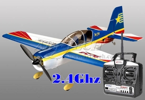 New Art-Tech New 2.4Ghz 4 Channel Yak 54 3D Aerobatic Airplane- Brushless + LiPo - Ready to Fly!