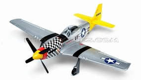 New Art-tech P-51D Mustang 4CH Brushless RTF Remote Control Scale Warbird