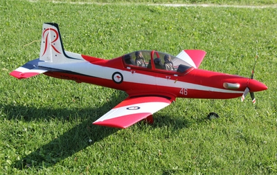 New Art Tech PC-9 Scale 4 Channel RC Model Plane War Bird  ARF Remote Control