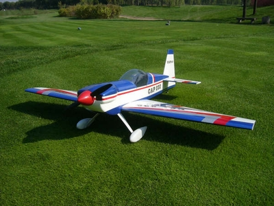 "New Cap 232 - 60 - 63"" ARF Nitro Gas Radio Remote Controlled RC Airplane R/C Aerobatic Aircraft"