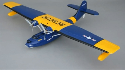 New CMP Fiberglass PBY Catalina 1800mm RC Electric Powered Seaplane ARF