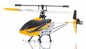 New Double Horse 9103 Infrared RC Micro Helicopter 3 Channel RTF + Transmitter with Gyro (Yellow) RC Remote Control Radio