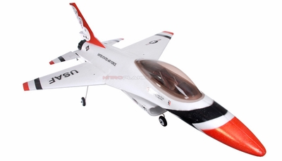 New Dynam 4-Ch 64mm EDF Brushless-Powered RC Remote Control Jet ARF RC Remote Control Radio