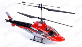 New Dynam 4 Channel Vortex 370 V2 Co-Axial RC Helicopter RTF + 2.4GHz Transmitter