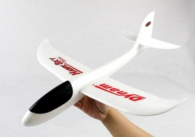 New Dynam 500mm Free Flight Hawk Sky Mini EPP Hand Glider