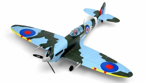 New Dynam Extreme Detail Brushless 4CH  Spitfire 900mm v2 ARF (Camo)