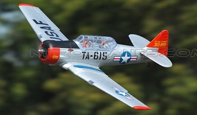 New Dynam RC AT-6 Texan 5 Channel 1370mm Warbird ARF