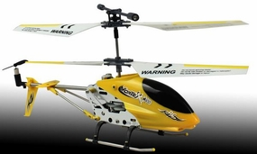 New Dynam Vortex M100 Infrared RC Micro Helicopter 3.5 Channel RTF + Transmitter with Gyro (Yellow)