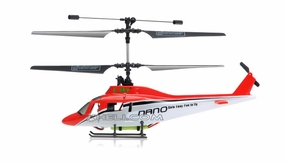 New Esky 2.4G Nano RTF 4 Channel Mini Helicopter Red RC Remote Control Radio