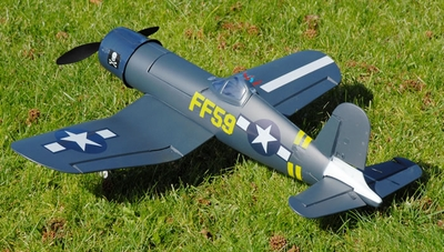 New F4U Corsair 4-Channel Electric Radio Remote Controlled RC Warbird Plane Ready-to-Fly RTF!