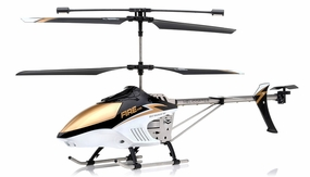 NEW Fire Eyes 3.5 Channel RC Aerial Camera helicopter RTF with external camera + Gyro + LED Transmitter (Black)