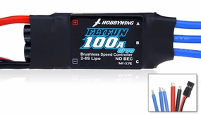 New HobbyWing Flyfun ESC 100A Opto for Airplane & Helicopter