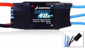 New HobbyWing Flyfun ESC 40A  for Airplane & Helicopter