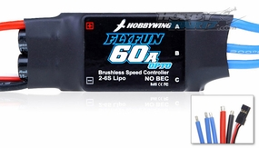 New HobbyWing Flyfun ESC 60A OPTO  for Airplane & Helicopter