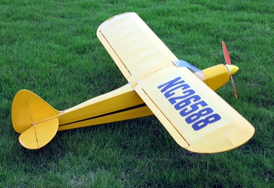"New J3 Piper Cub 10 - 47"" ARF Nitro Fuel/Electric Radio Remote Controlled RC Airplane"