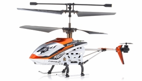 New JXD 340 Drift King Infrared RC Helicopter 4 Channel RTF + Transmitter with Gyro (Orange)