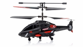 New JXD 343 Infrared 3.5CH RC Missile Shooting Helicopter RTF w/ Transmitter + Built in Gyro