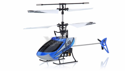 New Mingji F-Series 501 RC Helicopter 4 Channel 2.4Ghz RTF + Transmitter (Blue)