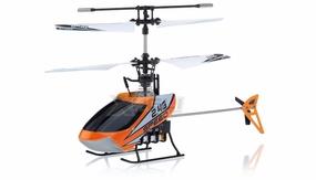New Mingji F-Series 501 RC Helicopter 4 Channel 2.4Ghz RTF + Transmitter (Orange) RC Remote Control Radio