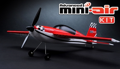New Mini-Air 4 Channel Brushed Extra 300 3D Aerobatic RC plane Kit