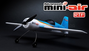 New Mini-Air 4 Channel Brushed SU26 3D Aerobatic RC plane RTF + 2.4 Ghz Transmitter