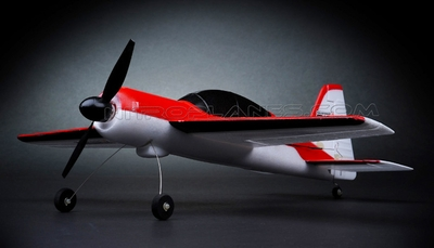 New Mini-Air  4 Channel Brushed Yak54 3D Aerobatic RC plane ARF w/Lipo Battery