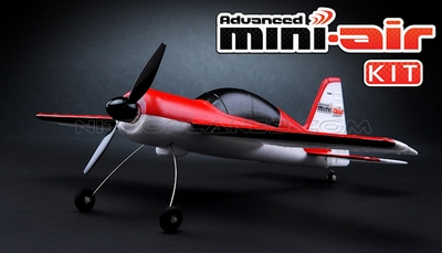 New Mini-Air  4 Channel Brushed Yak54 3D Aerobatic RC plane Kit RC Remote Control Radio