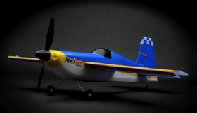 "New Mini Air Edge540 16.14"" aerobatic 4 Channel Remote Control Plane RTF + 2.4Ghz Transmitter RC Remote Control Radio 11A540-Edge540-RTF-24G"