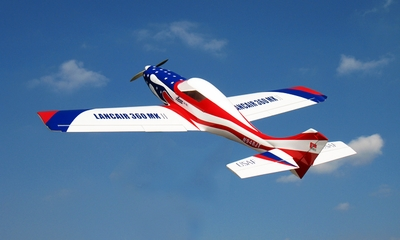 "New Nitro Models Lancair 120 - 71"" Nitro Gas RC Plane ARF"