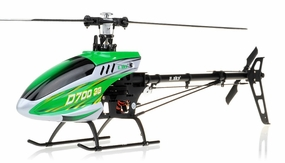 New RC Esky D700 3G 6-Channel Collective Pitch Flybarless Receiver-Ready Helicopter RC Remote Control Radio