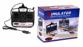 New RC Tech 6 CH Flight Simulator Remote Control  for Helicopters/ Airplanes 60P-DYU-1002-Simulator